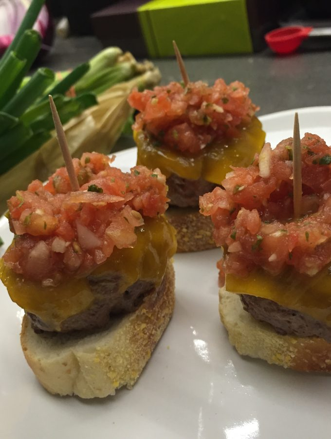 """Bruschetta"" Sliders"