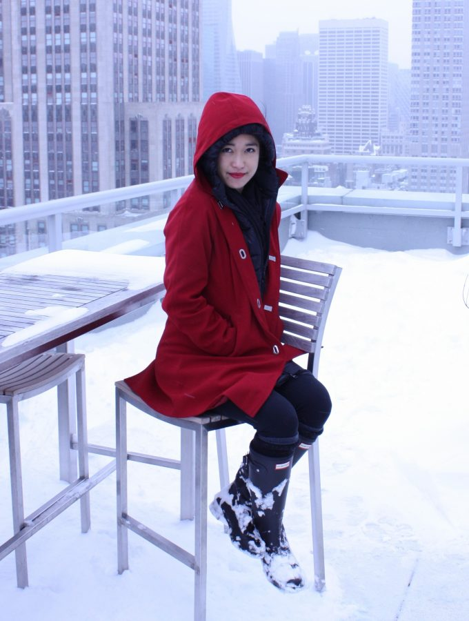 "Winter Weather Outerwear: ""Little Red"""