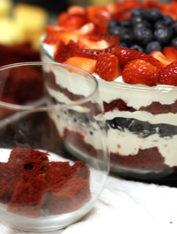 Fresh Summer Berry Trifle