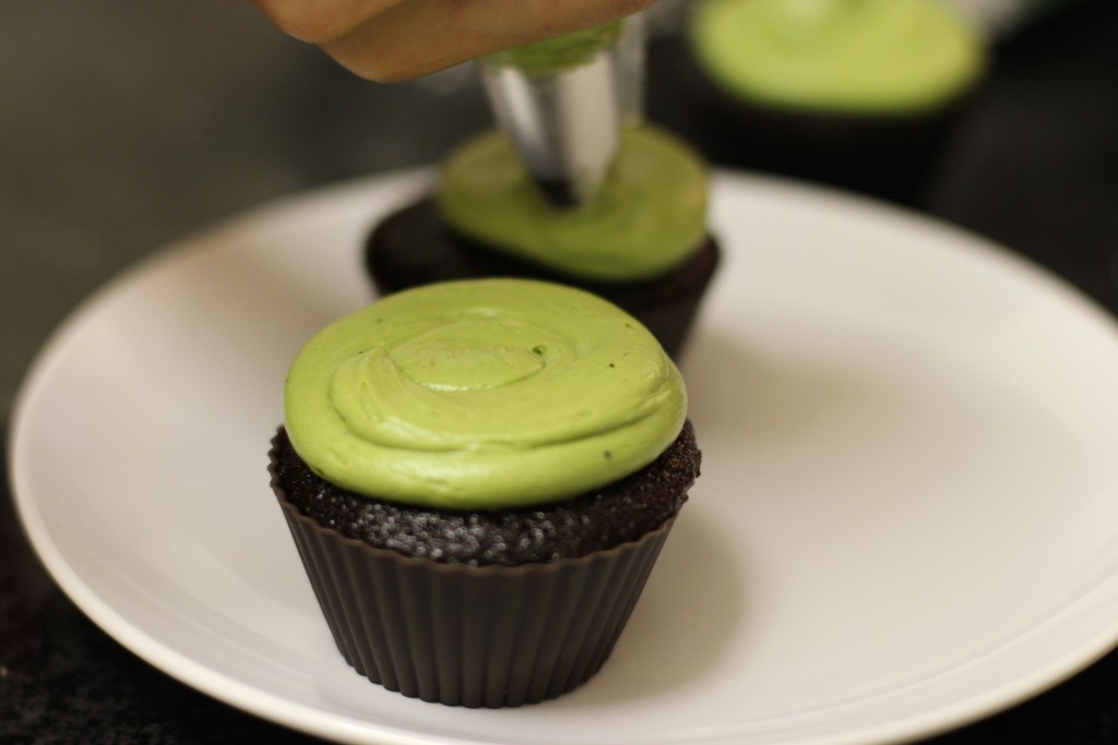 Matcha Green Tea Cream Cheese Frosting