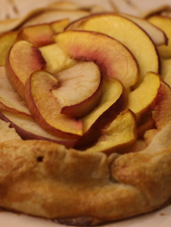 Peach + Nectarine Crostata