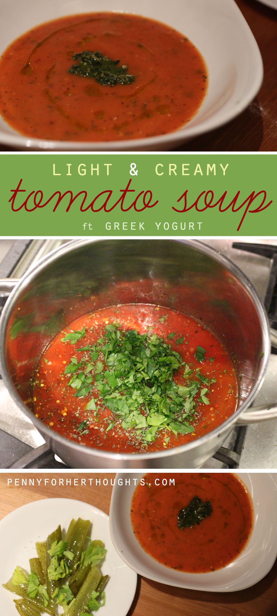 light creamy tomato soup