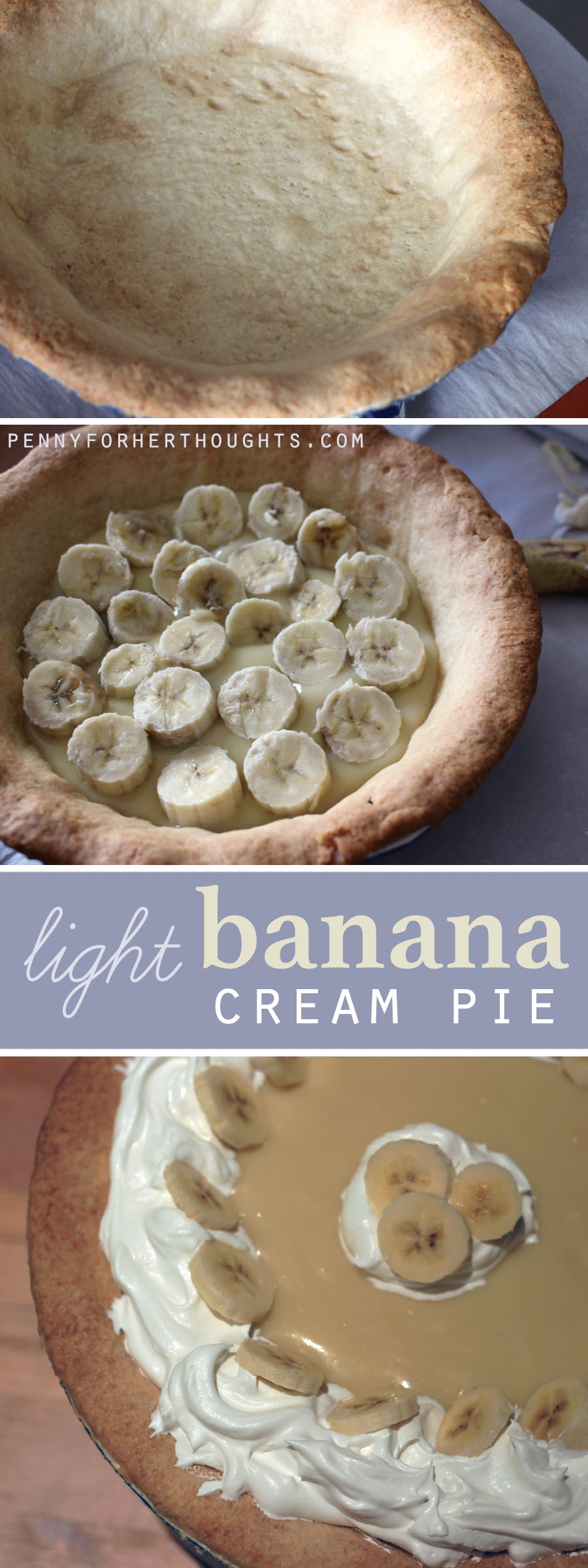 Light Banana Cream Pie