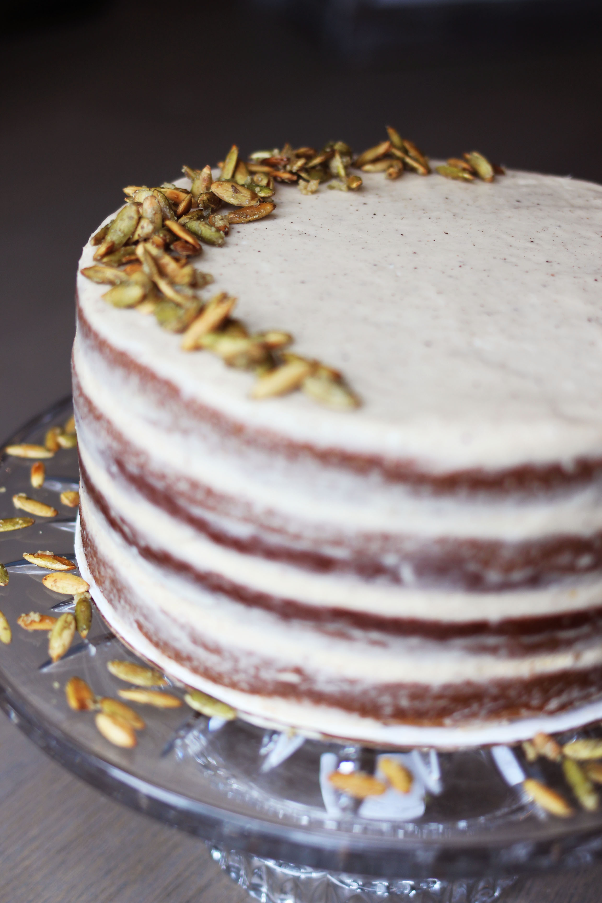 The Ultimate Pumpkin Layer Cake: Brown Butter Frosting and ...