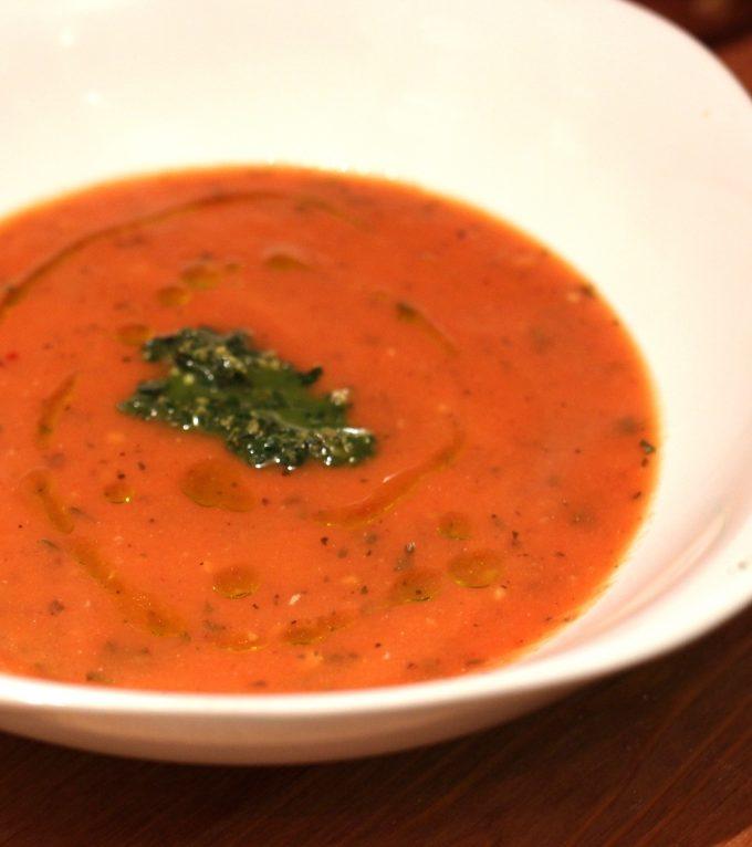Light and Creamy Tomato Soup