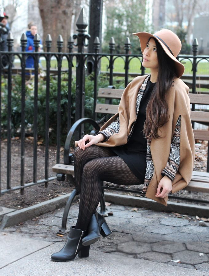 City Chic: Drapey Camel Layers