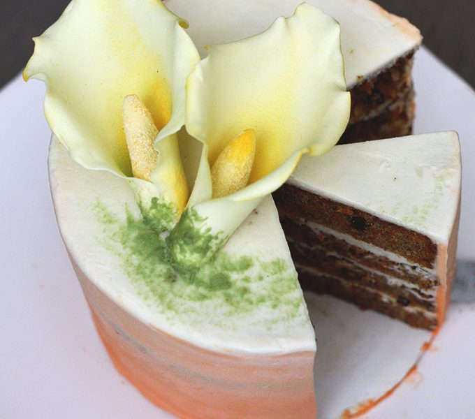 Ombre Carrot Cake